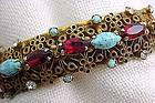 Colorful Sandor Bangle Bracelet - Unusual Find