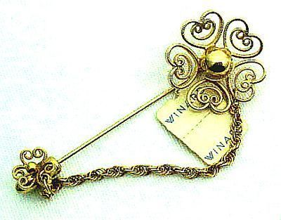 1970s Winard Stick Pin With Original Tag