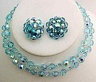 Marvella Crystal Demi-Parure - Soft Aqua