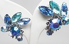Shades of Blue Beaujewels Earrings