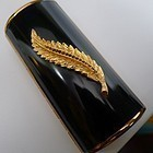 Unususal Cylindrical Kigu of London Cigarette Case