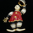 KJL Hard to Find Ringmaster Clown Pin
