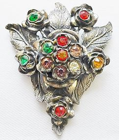 Art Deco Little Nemo Jeweled Dress Clip