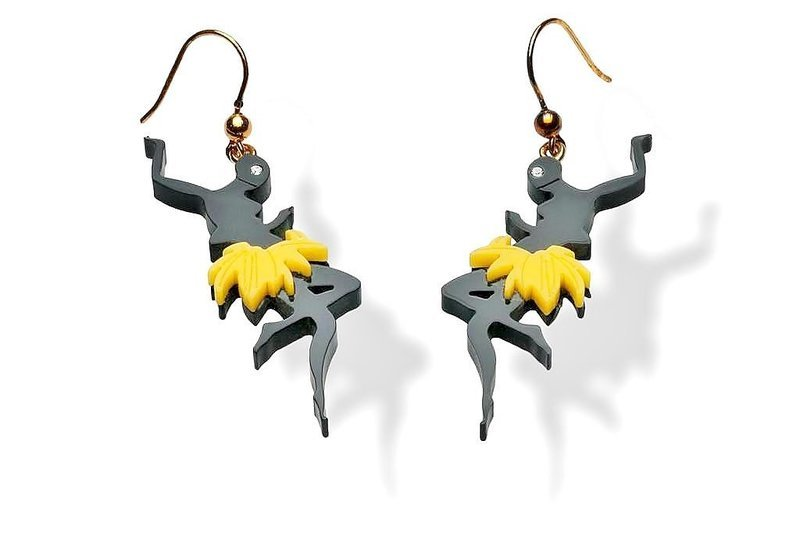 PRADA - Amazing Josephine Baker Earrings - 2011