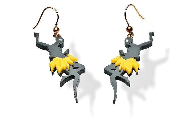 PRADA - Amazing Josephine Baker Earrings - 2011
