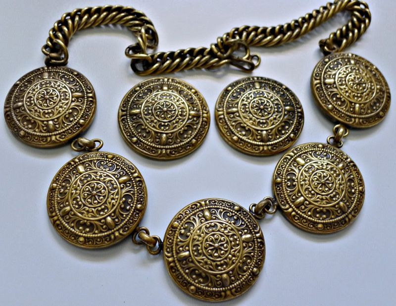 Vintage Joseff Large Necklace and Earrings