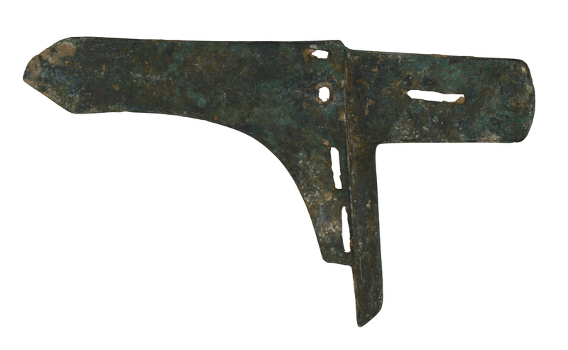 Early Zhou Dynasty Bronze Ge Dagger Axe