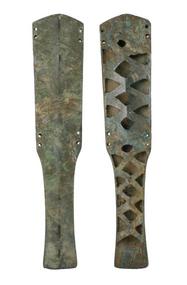 Wester Zhou Openwork Bronze Sword Scabbard