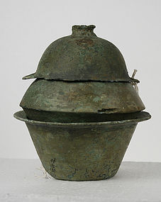 Han Dynasty Bronze Cooking Set Arthur M Sackler
