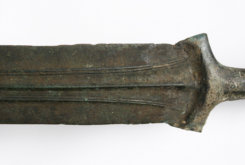 Ancient Bronze Sword Northern Iran