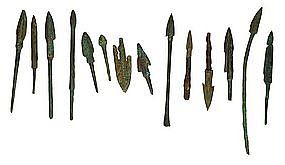 Asian Bronze Arrowheads