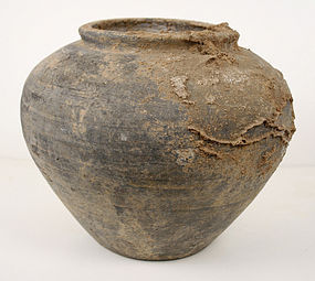 Ancient Chinese Globular Pot