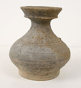 Ancient Chinese Grey Ware Pot