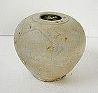 Khmer Lotus Petal Porcelain Jar Shipwreck Recovery