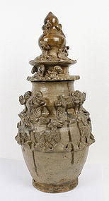 Important Song Dynasty Offering Jar Sackler Collection