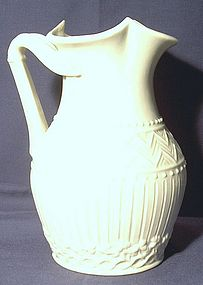 Irish Belleek Pitcher; Second Black Mark