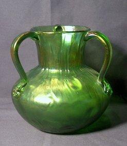 Loetz Three Handled Loving cup or Vase