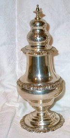 Large Sterling Pepper or Spice Caster Currier & Roby