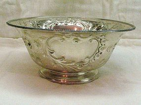 Tetard Freres French Silver Bowl