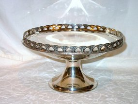 George V Sterling Compote or Center Bowl
