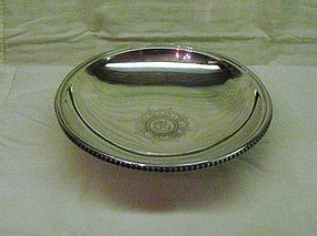Tiffany Sterling Silver Footed Fruit Bowl