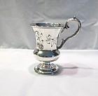 Coin Silver Mug; Charters Cann & Dunn
