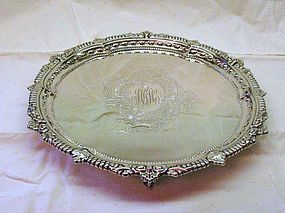 Dominick and Haff Georgian Style Sterling Salver