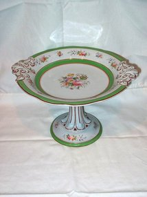 Large English Staffordshire Compote