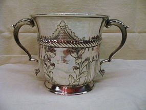 Georgian Silver Porringer W & J Priest 1769