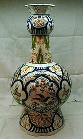 Large 18th Century Dutch Delft Vase