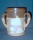 Doulton Lambeth 3-Handled Stoneware Loving Cup