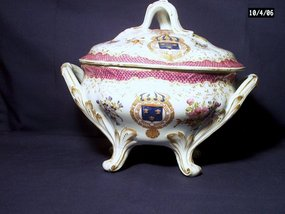 Hochst Armorial Tureen and Cover by Samson