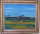Victor Joseph Gotto-American; Oil on Canvasboard