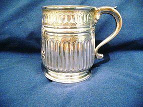 George I Silver Mug 1719 Britannia Standard