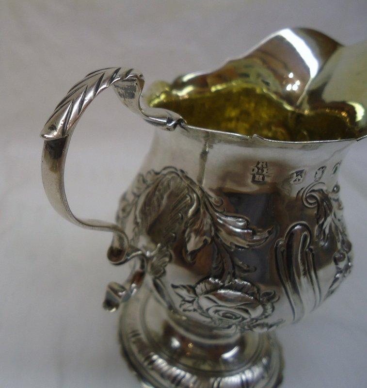 Georgian Silver Creamer 1769
