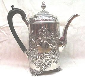 Georgian Silver Coffee Pot John Emes 1805