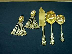Sterling Silver Dessert Set Theodore B. Starr