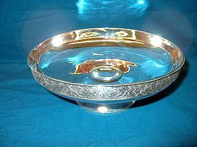 Gorham Sterling Silver Compote or Center Bowl; 1881