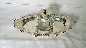 Victorian Sterling Silver Inkstand