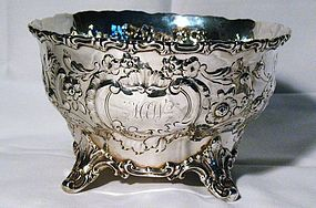Early American Coin Silver Bowl William Gale & Son