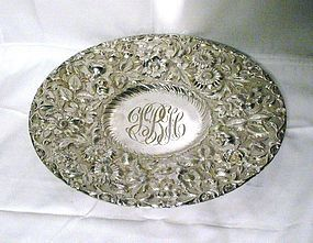 Jenkins & Jenkins Sterling Silver Footed Cake Stand