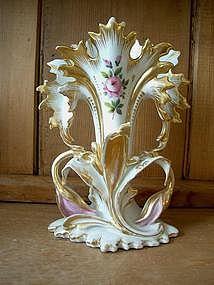 Old Paris Fan Vase