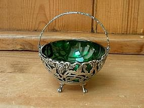 Sterling Silver Victorian Sugar Basket