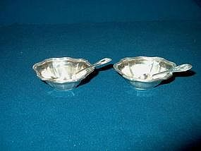 Sterling Silver Open Salts by Gorham; 1919
