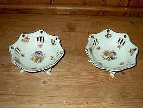 German Compote or Bon Bon Dishes