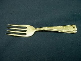 Cartier Sterling Baby Fork