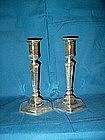Tiffany Sterling Silver Art Deco Candlesticks
