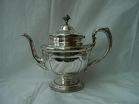 Towle Sterling Teapot; Louis IV Pattern
