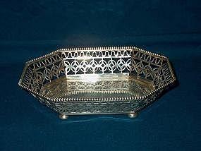 Gorham Sterling BonBon Dish; 1897