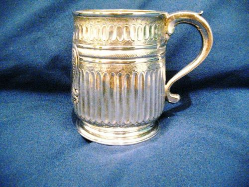 George I Silver Mug 1719 Britannia Standard (95.84% silver)